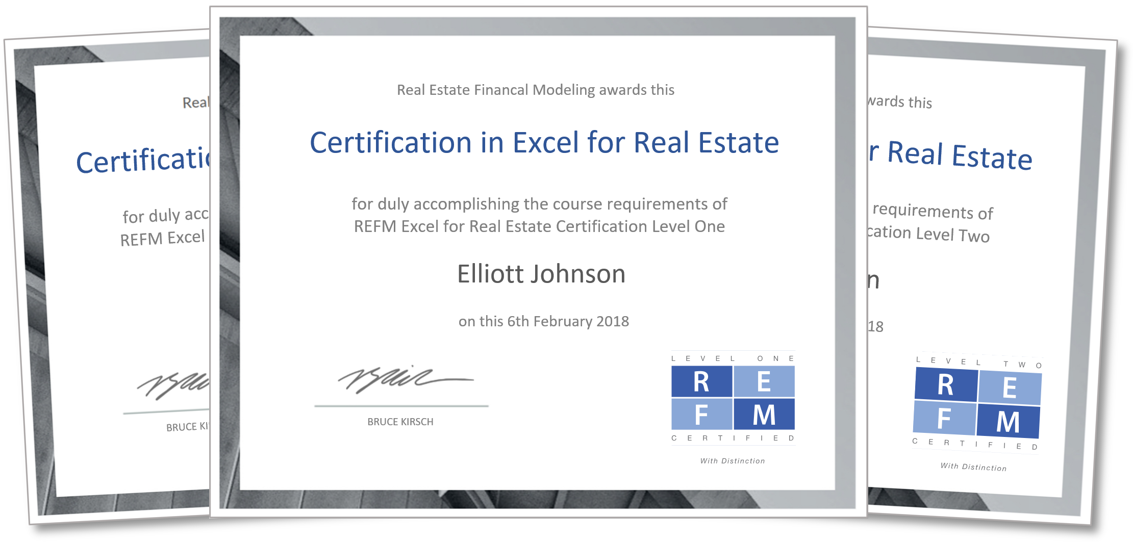 Excel For Real Estate Certification And Training Getrefm