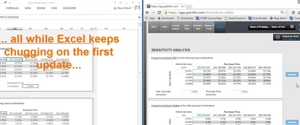 [ Video ] Don't blink or you might miss Valuate updating data tables