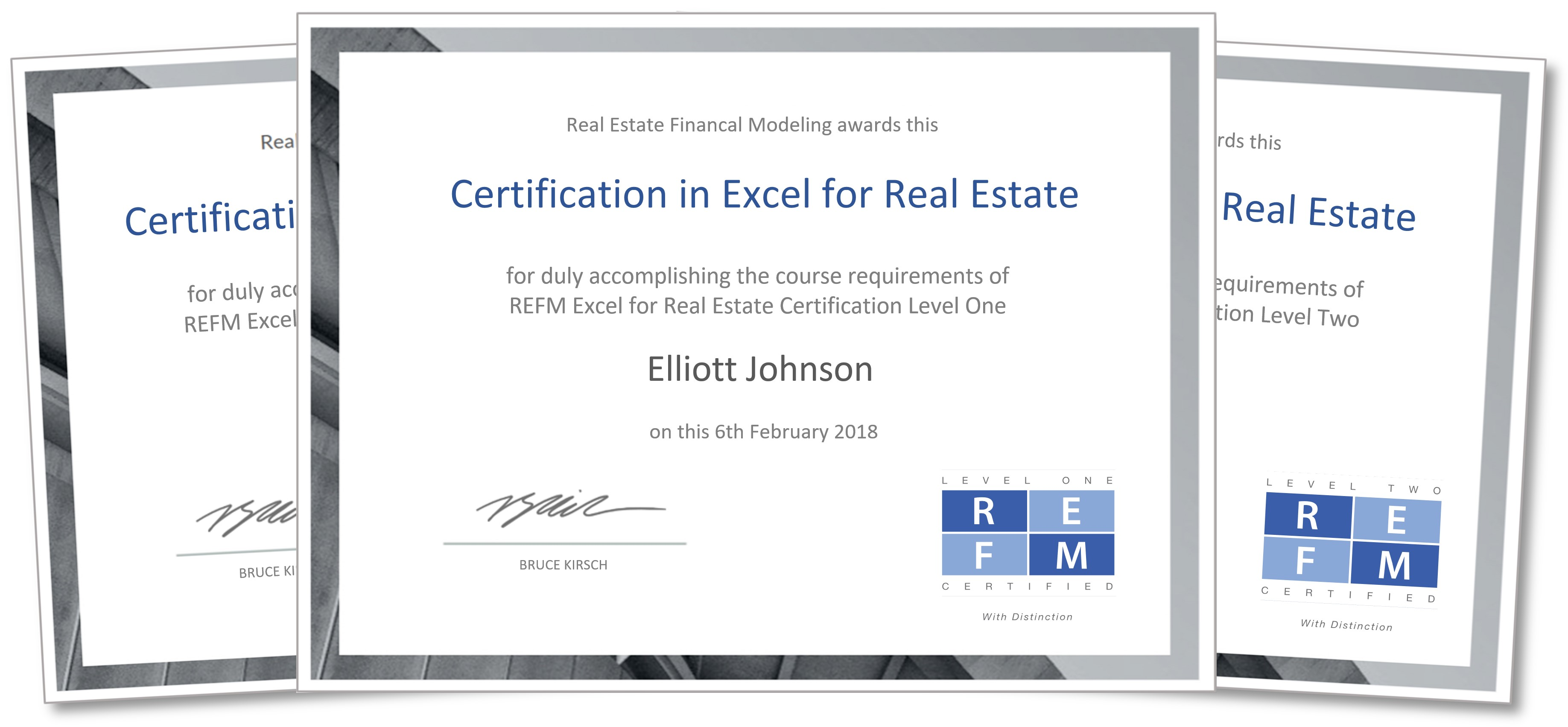 Refm Certification Program In Excel For Real Estate Real Estate