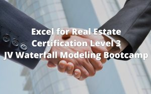 Excel for Real Estate Certification Level 3 Course