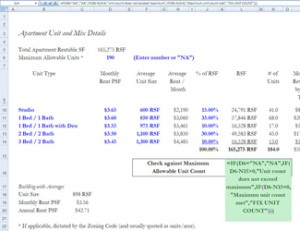 Excel-based Real Estate Development Financial Modeling for Mixed-Use Apartment/Multi-Family Buildings - $195 Standard / $175 CFA Institute