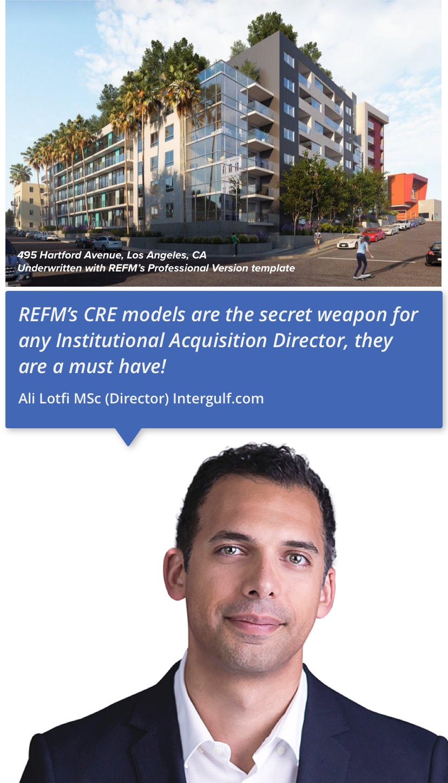 REFM Excel Models